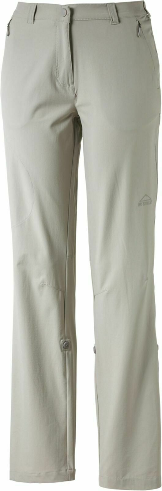 Mckinley damen Pantaloni per Escursioni Trekking Madok grau Größe Lunga