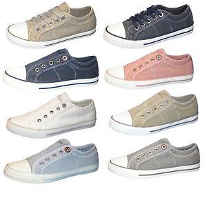 Canvas 23636 Damen oliver Schuhe 23635 S Slipper Halbschuhe Sneaker fXAfw1q
