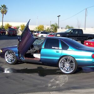 Lambo Doors Chevrolet Impala Caprice 1991 1996 Door Conversion Kit Vdi Usa Made Ebay