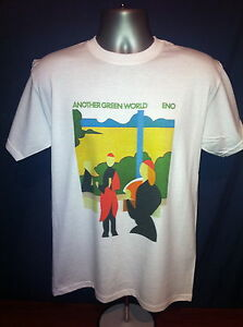 Eno Another Green World T Shirt Brian Roxy Music Ambient David Bowie