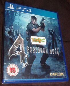 Resident-Evil-4-HD-remake-Playstation-4-PS4-Nuevo-Sellado-Gratis-Uk-P-amp-p-vendedor-del-Reino-Unido