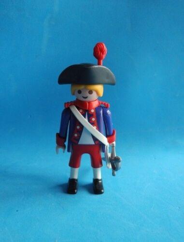 Playmobil Gendarme frances rubio espada blonde french soldier sword Soldat
