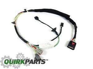 oem mopar rh front door panel wiring harness 2011 2012 jeep wrangler rh ebay com jeep wrangler door wiring 2015 jeep wrangler door wiring diagram