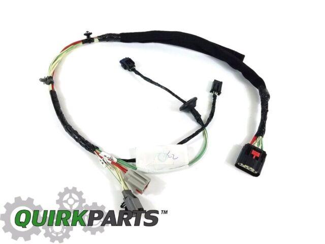 oem mopar rh front door panel wiring harness 2011-2012 jeep wrangler  #68066012ae