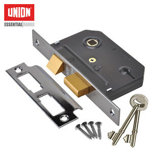 DIY Materials Union 3 Lever Sashlock Door Locks & Lock