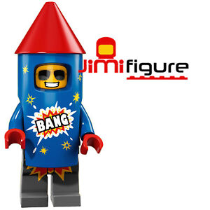 NEW-LEGO-Minifigures-Firework-Guy-Series-18-Party-71021-Genuine-Sealed-Figure