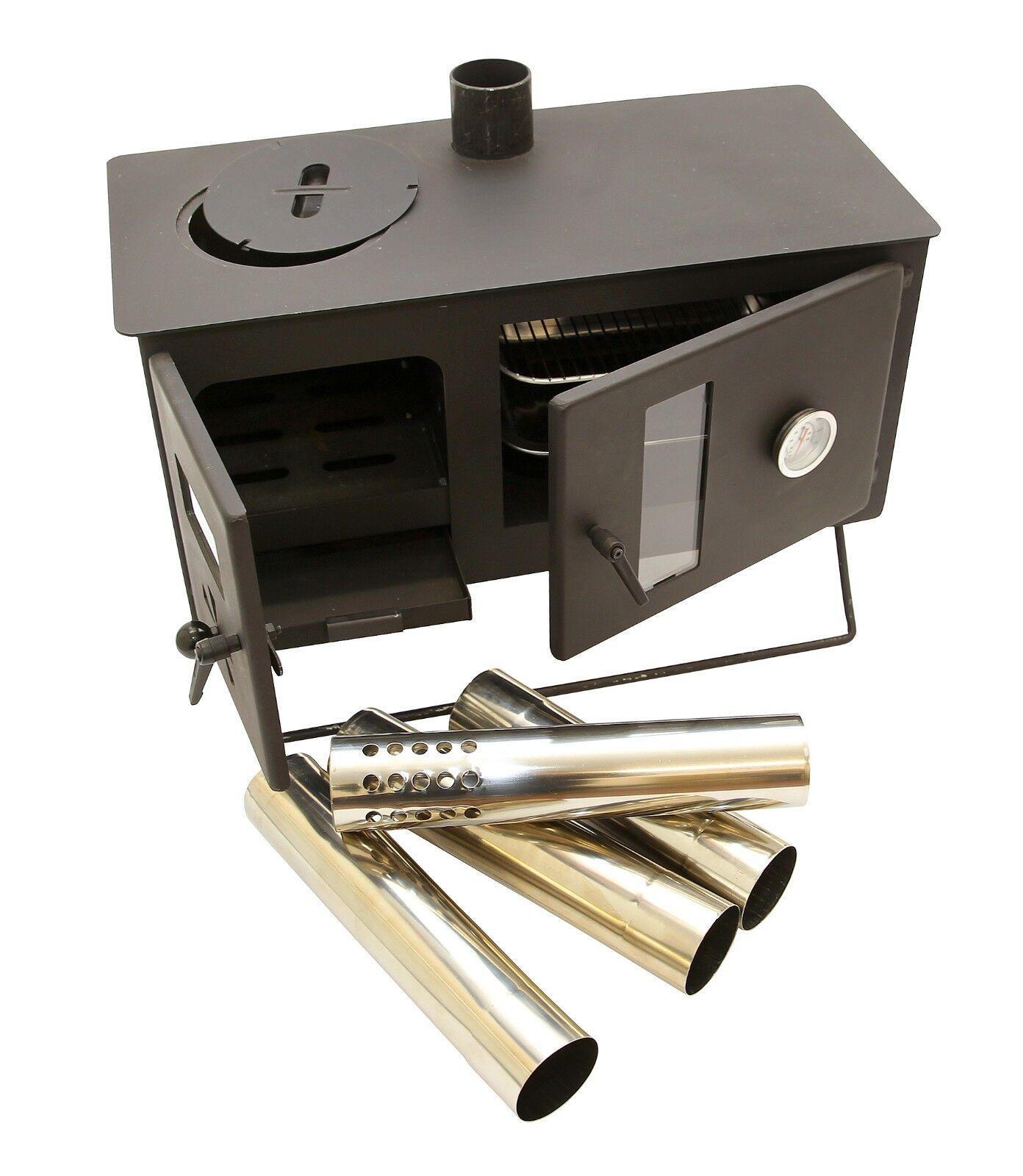 OUTBACKER ®  cámara de combustión Gama Horno Portátil Leña Estufa-Libre bolsa de transporte de la tienda  bienvenido a elegir