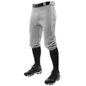 Champro-Triple-Crown-Knicker-Youth-Baseball-Pants-Gray-NEW-Lists-24
