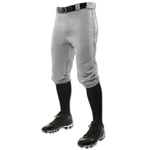 Gray NEW Champro Triple Crown Knicker Youth Baseball Pants Lists @ $24