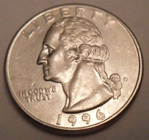 1996 D Washington Quarter   ** FREE SHIPPING**