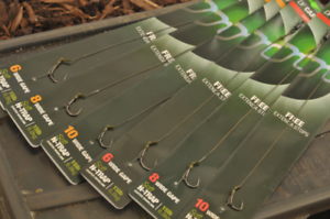 Barbed or Barbless All Sizes Pack of 5 Korda Krank Ready Tied Carp Rigs