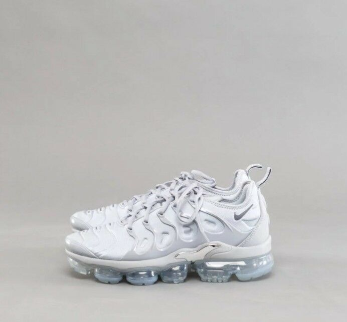 Nike Gris Air vapormax Plus Wolf Gris Nike Charcoal 924453-005 metalico Hombre running Zapatos salvaje Casual Shoes 1595a1