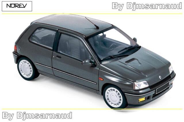 Renault  Clio 16S de 1991 Tungstene Grey  NOREV - NO 185234 - Echelle 1/18