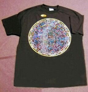 STELLAR-CARTOGRAPHY-ASTRONOMY-T-SHIRT-SIZE-XL-NEW-IN-PACKAGE