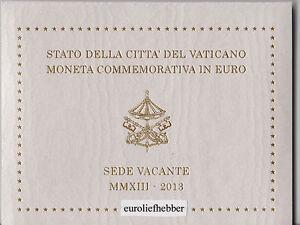 Vaticaan-2-Euro-Commemorative-2013-SEDE-VACANTE
