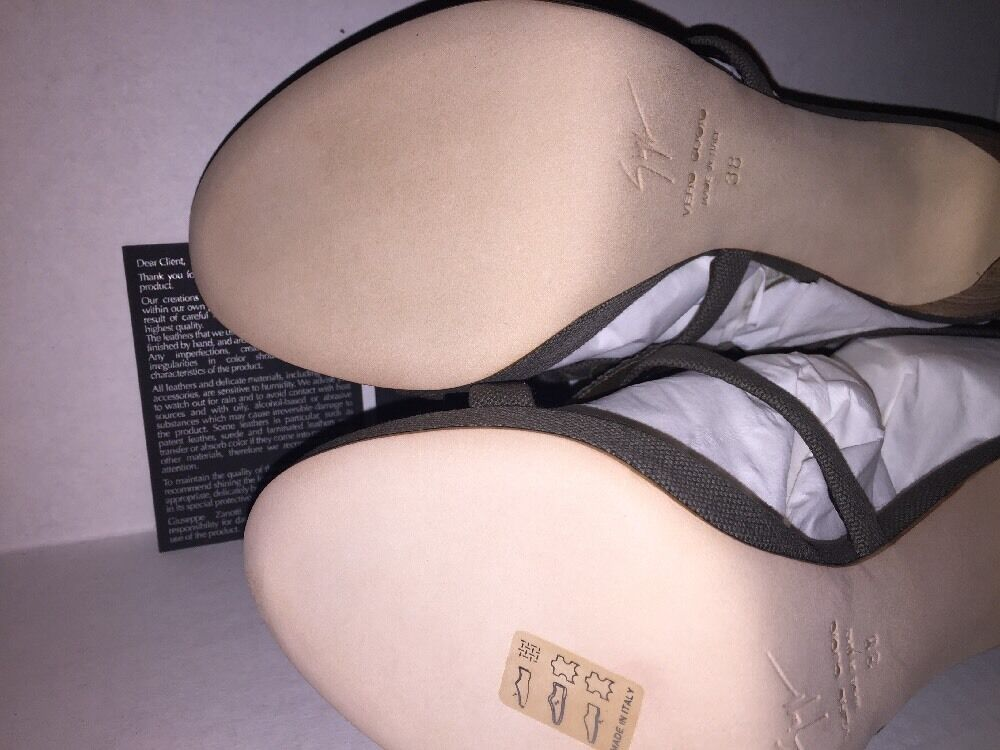 Brand New- Giuseppe Zanotti Summer 2008 Schuhes MADE (US IN ITALY (US MADE 7.5, Euro 38) b808a6