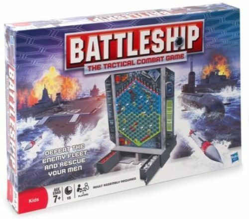 NEW BOX BATTLESHIP The Tactical Combat Game Sealed Family Game MB Games Hasbro