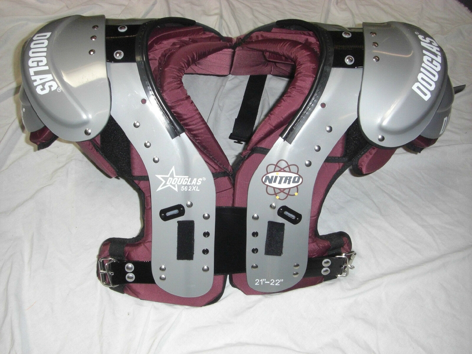 DOUGLAS NP 56 NITRO MULTI PURPOSE FOOTBALL SHOULDER PAD