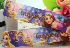 7//8 INCH 22mm GROSGRAIN RIBBON Hair Bow Supplies WHOLESALE Rapunzel Tangled