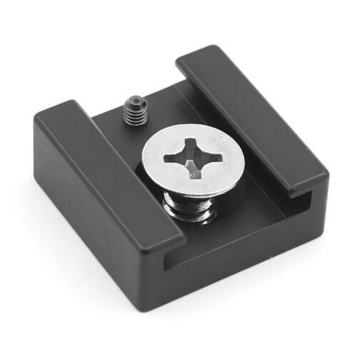 Cold Shoe Mount Holder Adapter For Flash Microphone Camera Flash Light neG2