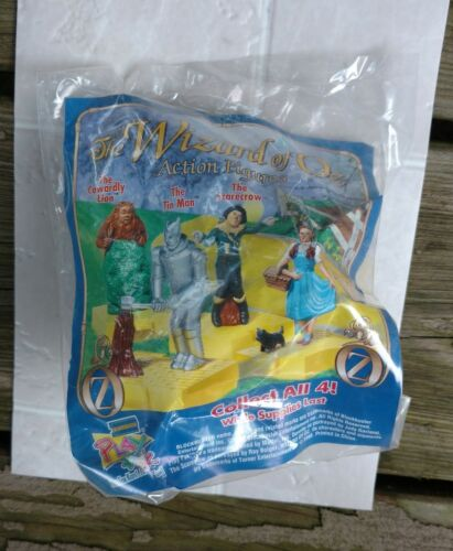 1998 Blockbuster Wizard of Oz The Cowardly Lion Action Figure Toy FACTORY SEALED
