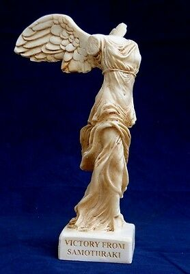 Nike Of Samothrace Greek  Statue Patina  7,5 inch