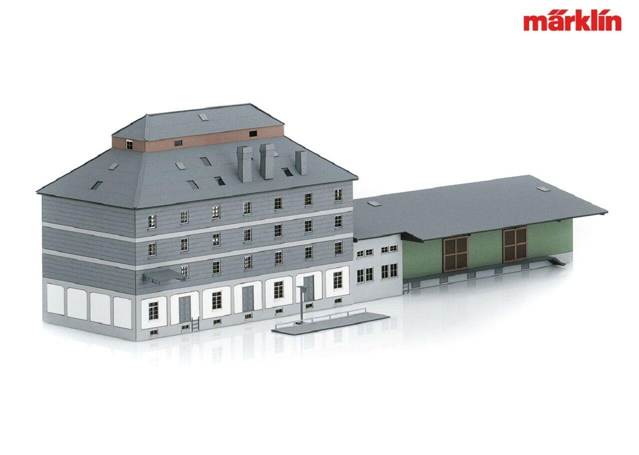 Märklin 72706 KIT wlz-edificio con mercato +++ NUOVO IN SCATOLA ORIGINALE