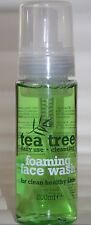 Tea Tree schiuma viso-uso quotidiano per la pelle sano e pulito - 200ml