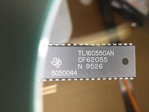 10-X-TL16C550AN-UART-40-Pin-Plastic-DIP-TEXAS-INSTRUMENTS