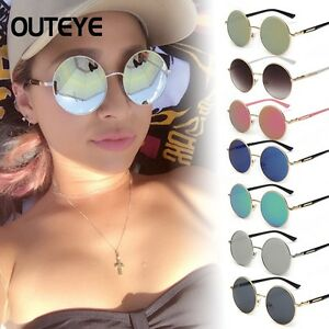 4111d282a Oversized Hippie Fashion Retro Large Round Circle Ladies Sunglasses ...