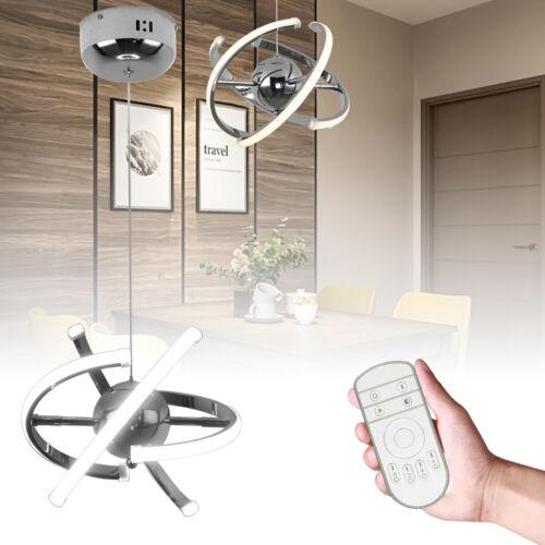 32W Pendelleuchte Hängelampe LED Kronleuchter Deform Lesezimmer Acryl Dimmbar DE