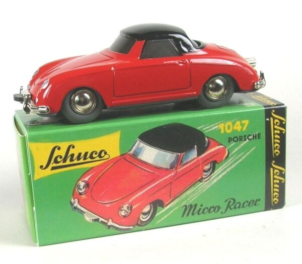 Porsche 356 Coupe (red black) Micro Racer 1047