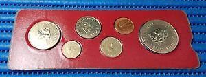 1988-Negara-Brunei-Darussalam-Specimen-Coin-Set-1-5-10-20-50-Cent-amp-1