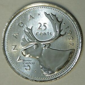 1997-Canada-Proof-Like-25-Cents