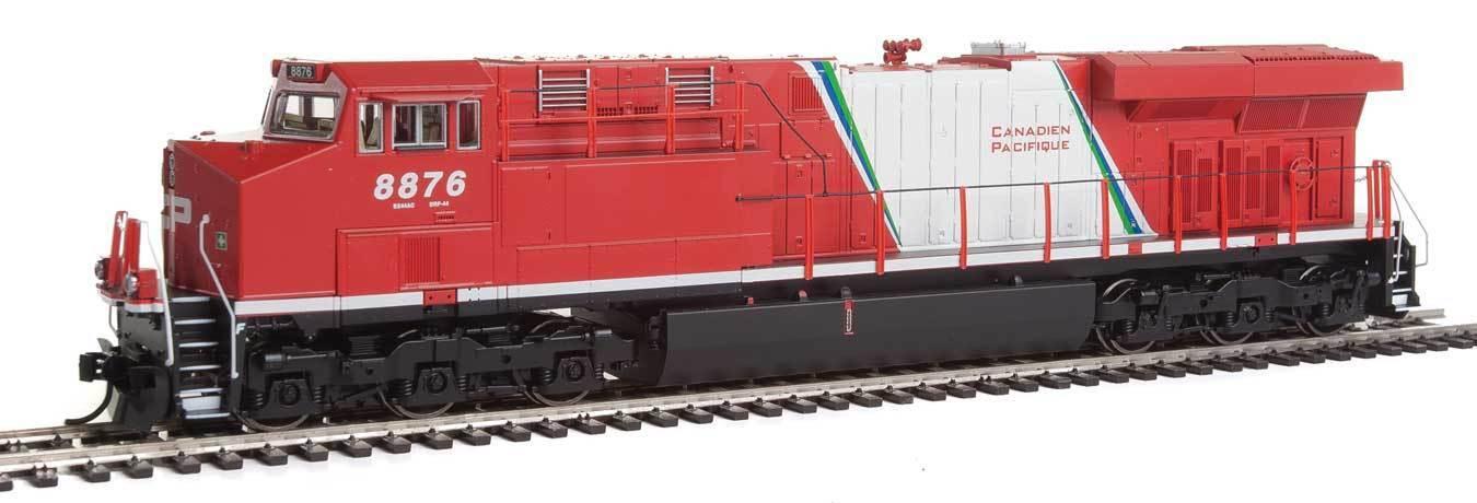 Walthers Ho Scale Gemini exclusivo ES44AC alimentación (DCC ESU Sonido) Canadian Pacific Cp Rail  8876