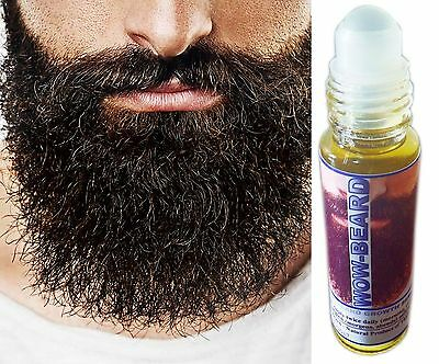 10ml BEARD Tonic Beard Sideburn Mustache Fuller Longer Thicker Beard HAIR GROWTH