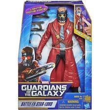 "Marvel Guardians of The Galaxy Battle FX Star-Lord 12"" Figure Sounds Music Voice"