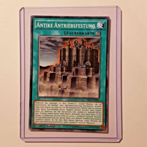 Antike Antriebsfestung SR03-DE022 Common 1 Auflage YU-GI-OH Karte Near Mint