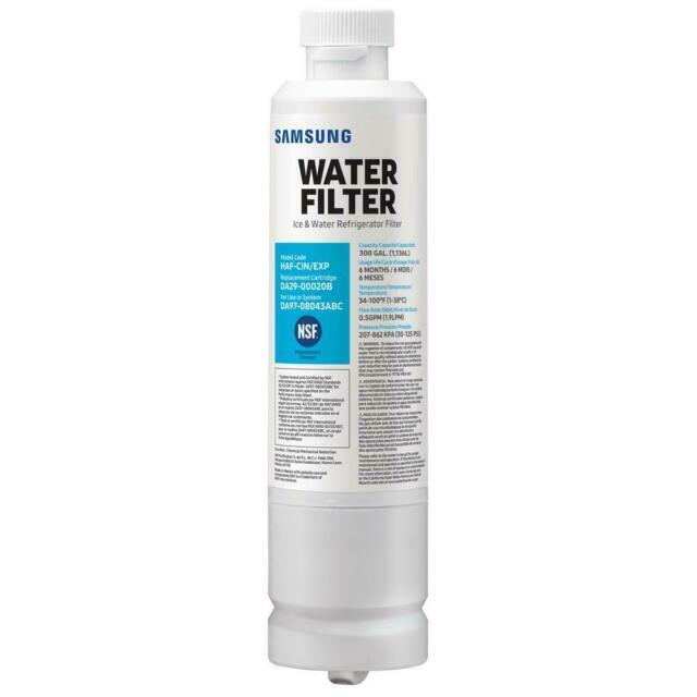 Replacement Carbon Water Filter Samsung Side-by-Side French
