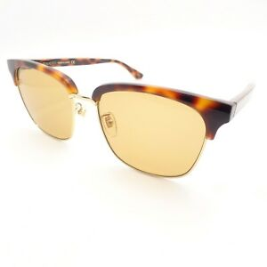 58507adc70a Image is loading Gucci-GG0382S-004-Havana-Gold-Brown-New-Sunglasses-