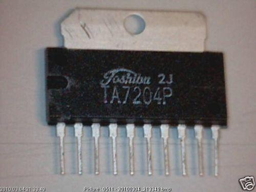 IC ta7204p toshiba 4,2w audio power amp