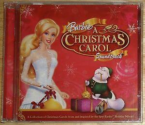 image is loading barbie cd soundtrack a christmas carol doll new - Barbie Christmas Carol