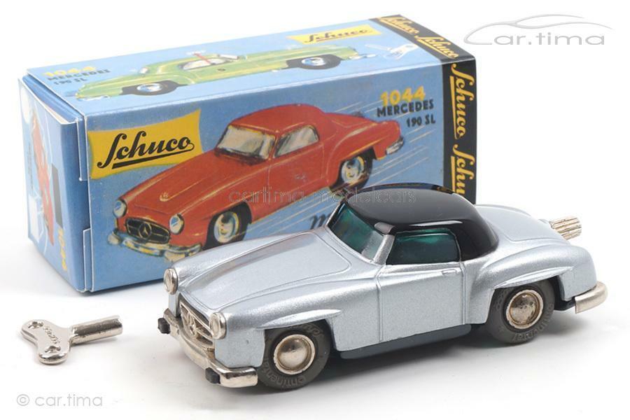 Micro Racer 1044-Mercedes Benz 190 SL-plata-Schuco - 01471