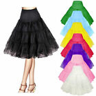 New 50s Swing Vintage Wedding Petticoat /Fancy Net Skirt/ Retro Underskirt UK