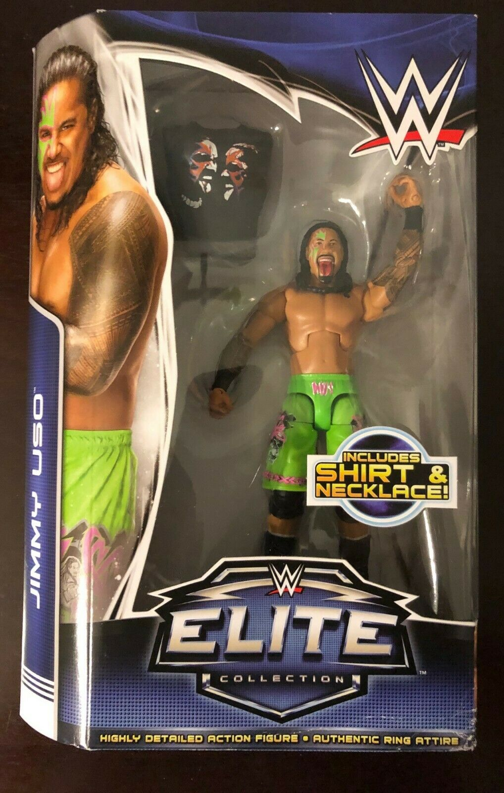 WWE Elite Collection Jimmy Uso azione cifra SERIE 31