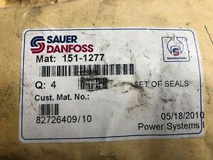 Sauer Danfoss OMR Motor Seal Kit 151-1277, lot of 4