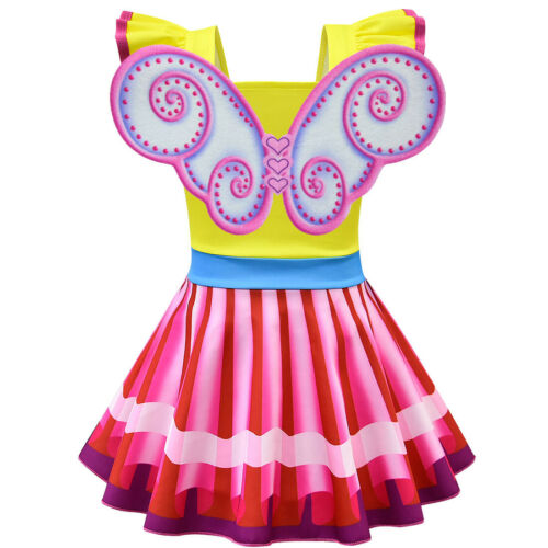 Fancy nancy Girls fancy Dress up tops dresses skirts mask wing party costume