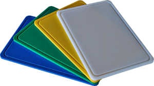Tagliere Professionale in Polietilene Vari Colori  sp 1,5 cm Varie dimensioni