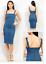 UK-Womens-Denim-Strap-Dungaree-Dress-Denim-Pinafore-Skirt-Midi-Dress thumbnail 1
