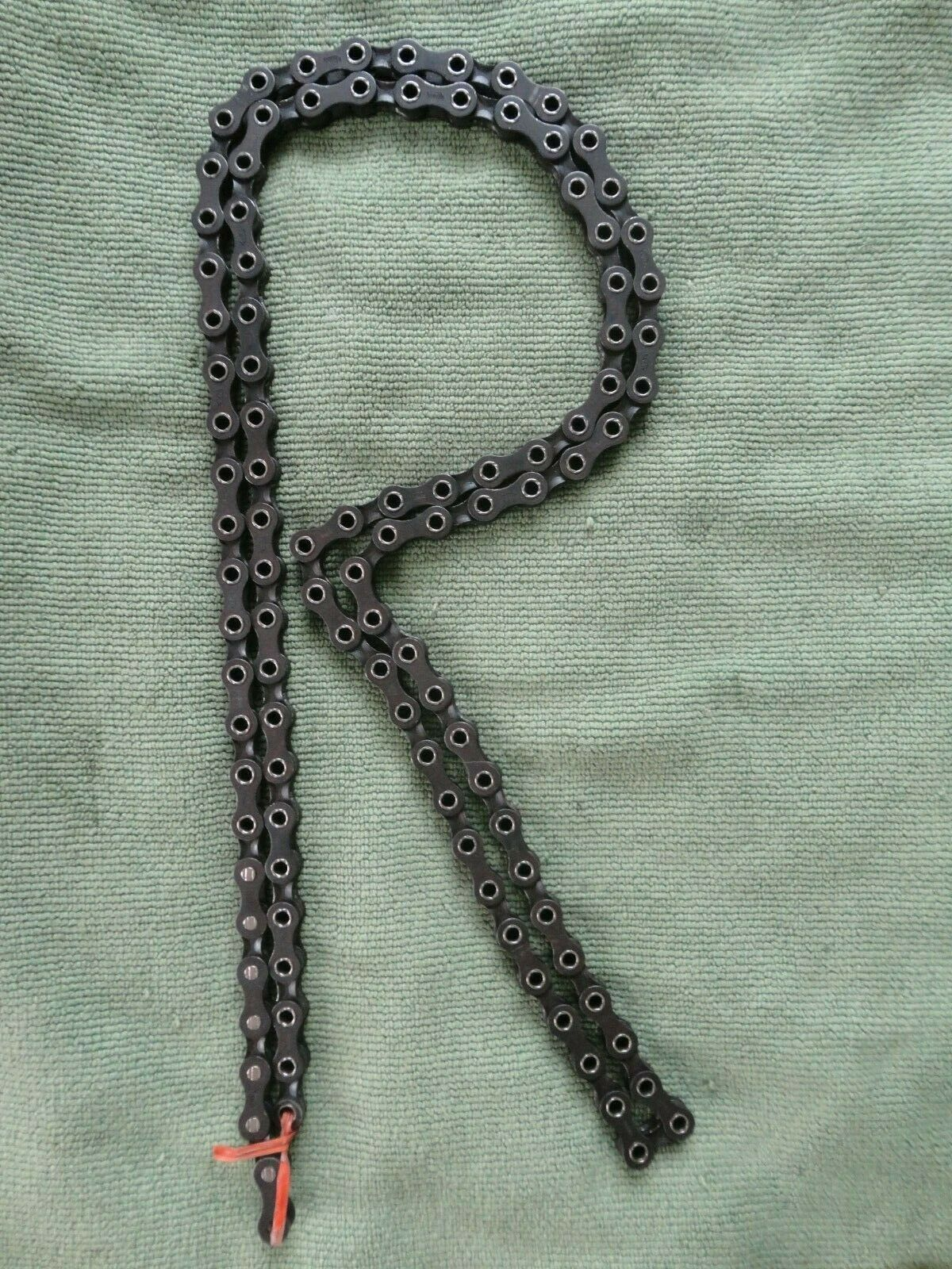 Regina Extra Superleggera Hollow Pin Chain 108 links Excellent  condition TakeOff  comfortably